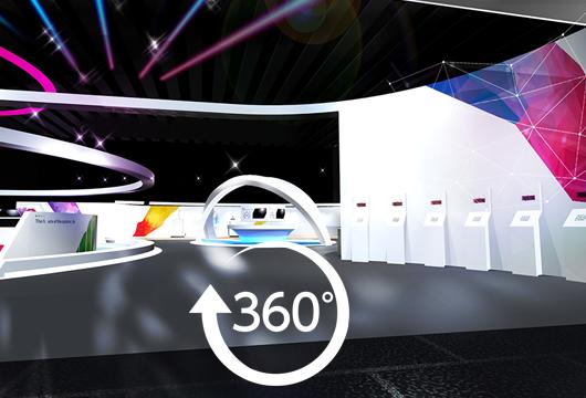 サクラインターナショナル-商ルーム-3DCG によるバーチャル空間構築も可能
