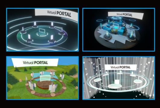 サクラインターナショナル-virtualportal-3D空間はオリジナルデザインにも対応